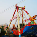 Barco Pirata Juego Mecánico