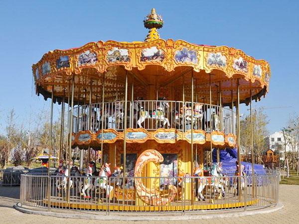 Venta de Carruseles, Juego Mecánico para Parques de Atracciones, Parques Infantiles, Excelente Calidad