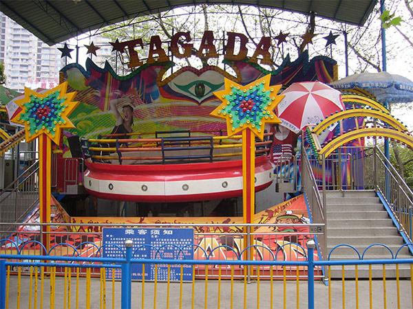 Proporciona una Amlia Variedad de Juegos Mecánicos Tagada
