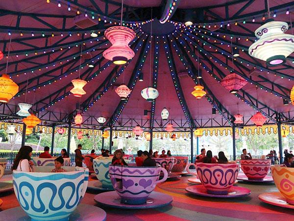 Venta de Tazas Locas, Atracciones de Feria para Parques