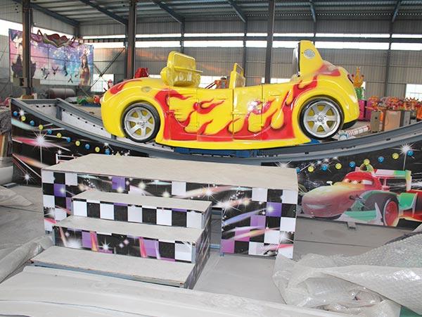 Venta de Juego Mecánico Mini Carro Volador, Para Parques Infantiles