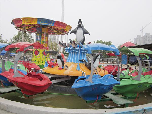 Venta de Juegos Mecánicos Acuáticos, Isla del Tiburón, Con Pistola de Agua