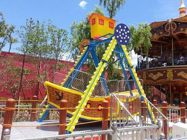 Venta de Barco Pirata Infantil, Juegos Mecánicos de Feria en Venta