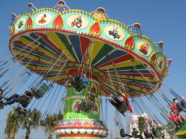 Fabricante Profesional de Juegos Mecánicos Para Ferias y Parque De Atracción