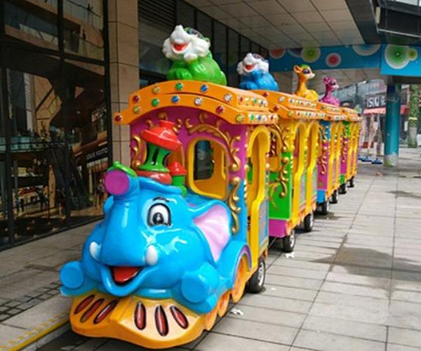 Se Vende Tren Eléctrico Infantil Para Parque De Diversiones, Parque Temático, Feria, Carnaval, Plazas Comerciales