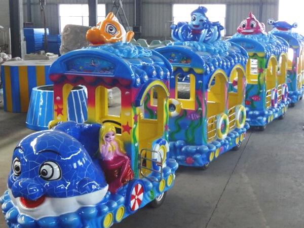 Fabricación de Tren de Paseo Infantil, Trenecitos Eléctricos para Parques, Ferias y Centros Comerciales