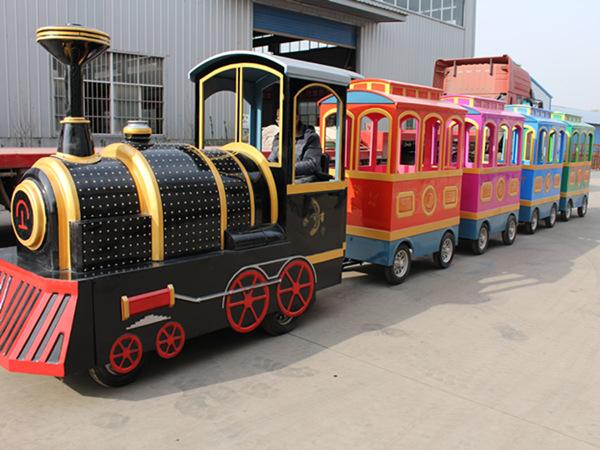 Venta de Tren Para Parques Infantiles, Fabricante Profesional de Atracciones de Feria, Alta Calidad