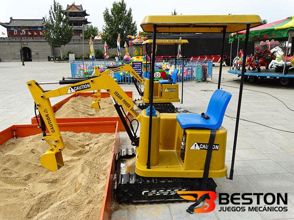 Beston Ofrece Máquinas Excavadoras Para Niños, Atracciones de Feria Infantil