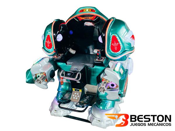 Juegos Mecánicos Infantiles, El Robot con Monedas, Precio Más Económico