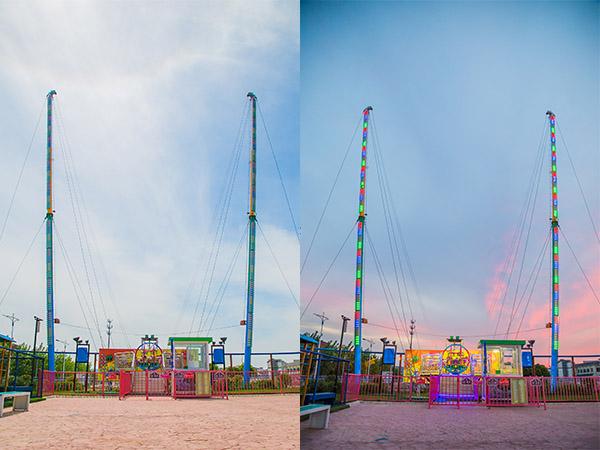 Slingshot, Bungee Jump Juego Mecánico Para Parques De Atracciones