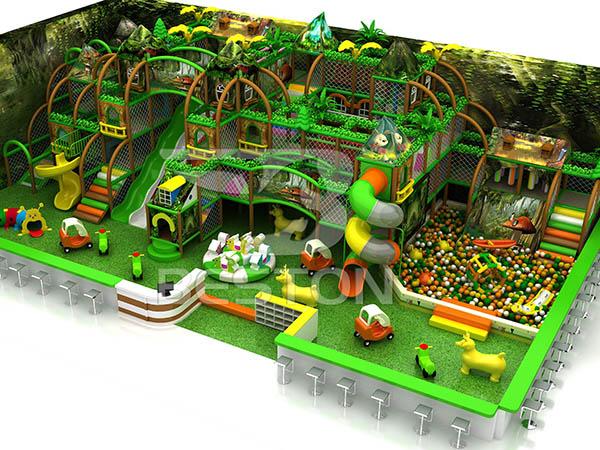 Producto De Parque Infantil Grande - Tema Bosque