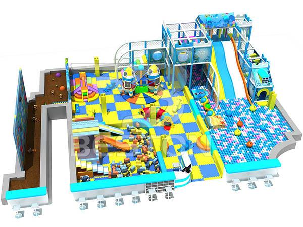 Diseño Y Fabricación De Parque De Bolas - Tema Marino