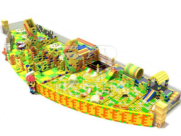Fabricante Profesional De Parques Infantiles Interiores Tema LEGO