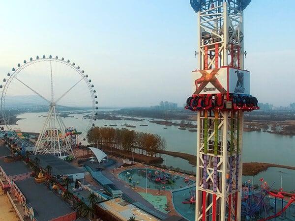 Beston Torre de Caída en Parque de Atracciones