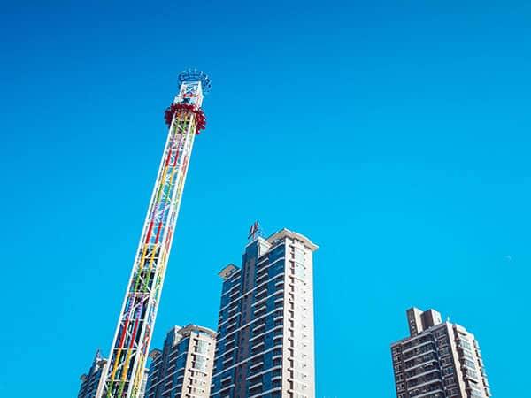 Atracción Torre de Caída Libre