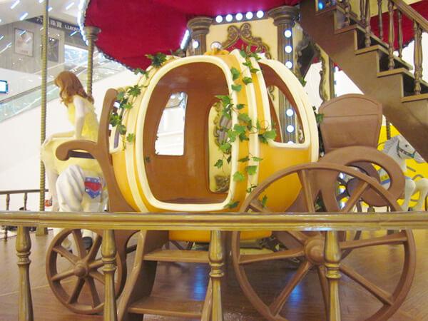 Carrusel Dos Pisos Carro de Calabaza