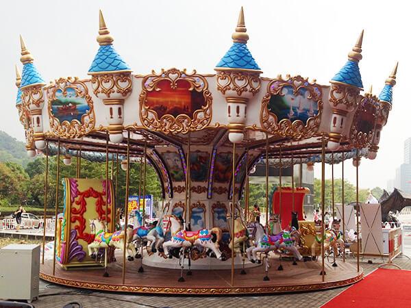 Carrusel Infantil Tema de Castillo