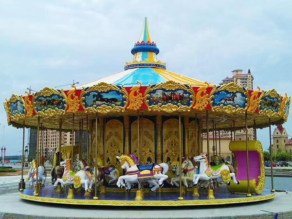 Carrusel Infantil Tema Lujo con 36 Asientos - Beston Juegos Mecánicos