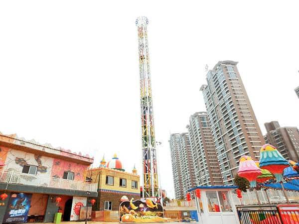 Torre de Caída para Parque de Diversiones