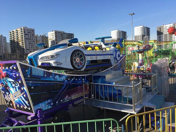 Juegos Mecánico de Remolque Carro Volador