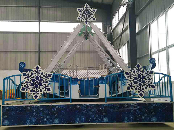 Mini Barco Tema de Nieve