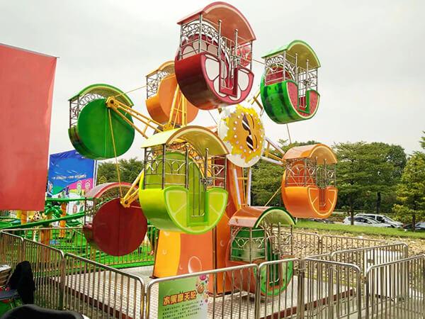 Juegos Mecánicos, Rueda Dela Fortuna Infantil en Venta