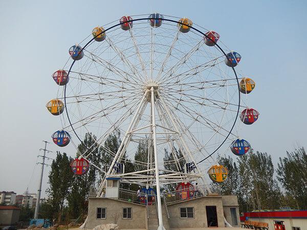 Fabrica Rueda De La Fortuna Para Parques De Atracciones