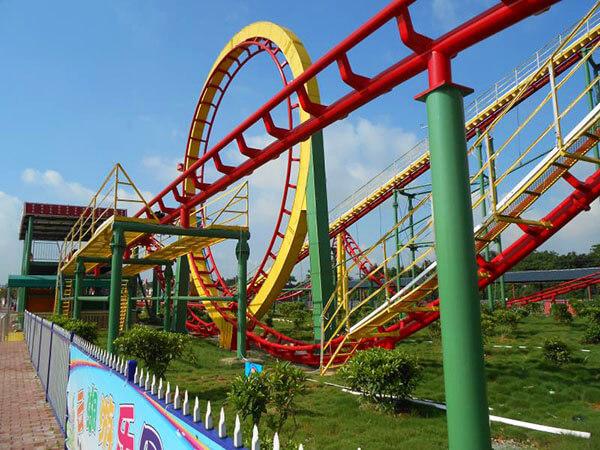 Montaña Rusa Juegos Mecánicos Para Parques