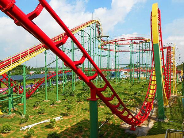 Fabricante De Juegos Mecánicos Montaña Rusa Para Parque De Atracciones